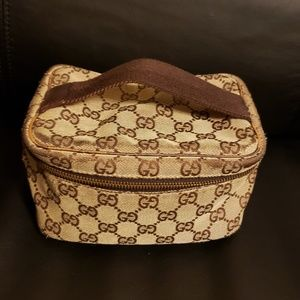 Authentic Gucci Cosmetic Pouch Handbag